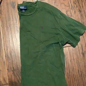 Ralph Lauren army green men's large T-shirt